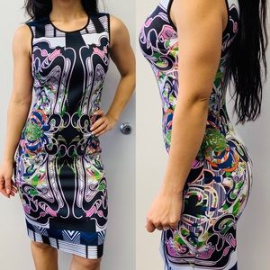 Knee length fitted dress